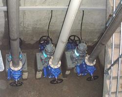 Pumpenstation zur Entwässerung einer Unterführung