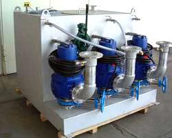 Pumpenstation zur Abwasserentsorgung der APS GmbH