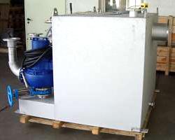 Abwasserhebeanlage in Sonderbauweise